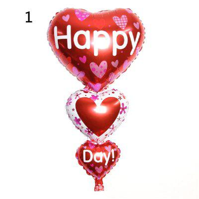 YEDUO Baloon Party Decoration Cuore Engagement Anniversary Weddings San Valentino Palloncini