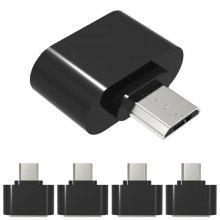 Micro USB to USB2.0 OTG Expansion Adapter For Cell Phone Android Interface