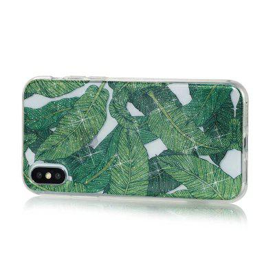 Banana Leaves High Penetrating Powder IMD  TPU Phone Case for iPhone XiPhone Cases/Covers<br>Banana Leaves High Penetrating Powder IMD  TPU Phone Case for iPhone X<br><br>Features: Back Cover<br>Material: TPU<br>Package Contents: 1 x Phone Case<br>Package size (L x W x H): 14.50 x 7.20 x 1.00 cm / 5.71 x 2.83 x 0.39 inches<br>Package weight: 0.0180 kg<br>Product weight: 0.0170 kg<br>Style: Novelty