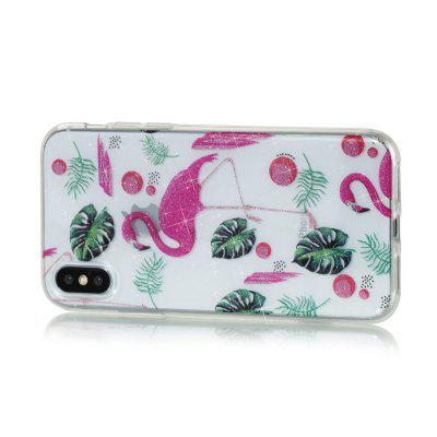 Flamingo High Penetrating Powder IMD  TPU Phone Case for iPhone XiPhone Cases/Covers<br>Flamingo High Penetrating Powder IMD  TPU Phone Case for iPhone X<br><br>Features: Back Cover<br>Material: TPU<br>Package Contents: 1 x Phone Case<br>Package size (L x W x H): 14.50 x 7.20 x 1.00 cm / 5.71 x 2.83 x 0.39 inches<br>Package weight: 0.0180 kg<br>Product weight: 0.0170 kg<br>Style: Novelty