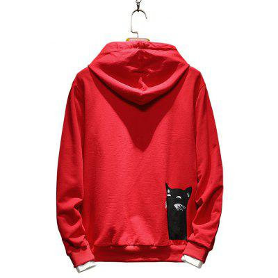 MenS Fashion Shark Fin Printed HoodieMens Hoodies &amp; Sweatshirts<br>MenS Fashion Shark Fin Printed Hoodie<br><br>Fabric Type: Broadcloth<br>Material: Cotton, Polyester<br>Package Contents: 1 x Hoodie<br>Shirt Length: Regular<br>Sleeve Length: Full<br>Style: Active<br>Weight: 0.4500kg