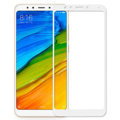 Tempered Glass Screen Film for Xiaomi Redmi 5Screen Protectors<br>Tempered Glass Screen Film for Xiaomi Redmi 5<br><br>Compatible Model: Xiaomi Redmi 5<br>Features: Waterproof, High-definition, Anti scratch, Anti-oil, Protect Screen<br>Mainly Compatible with: Xiaomi<br>Material: Tempered Glass<br>Package Contents: 1 x Screen Protector, 1 x Dry Cleaning Cloth, 1 x Wet Wipes<br>Package size (L x W x H): 17.00 x 9.50 x 1.20 cm / 6.69 x 3.74 x 0.47 inches<br>Package weight: 0.0850 kg<br>Product Size(L x W x H): 14.80 x 6.90 x 0.26 cm / 5.83 x 2.72 x 0.1 inches<br>Product weight: 0.0100 kg<br>Surface Hardness: 9H<br>Thickness: 0.26mm<br>Type: Screen Protector