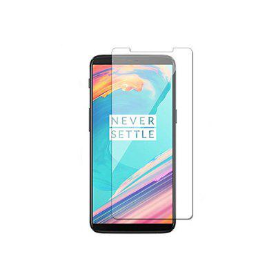 Tempered Glass Screen Film for OnePlus 5TScreen Protectors<br>Tempered Glass Screen Film for OnePlus 5T<br><br>Compatible Model: OnePlus 5T<br>Features: Ultra thin, High-definition, Anti scratch, Anti-oil, Protect Screen, High Transparency<br>Material: Tempered Glass<br>Package Contents: 1 x Screen Protector, 1 x Dry Cleaning Cloth, 1 x Wet Wipes<br>Package size (L x W x H): 17.00 x 9.50 x 1.20 cm / 6.69 x 3.74 x 0.47 inches<br>Package weight: 0.0850 kg<br>Product Size(L x W x H): 15.00 x 6.90 x 0.26 cm / 5.91 x 2.72 x 0.1 inches<br>Product weight: 0.0100 kg<br>Surface Hardness: 9H<br>Thickness: 0.26mm<br>Type: Screen Protector