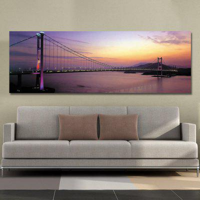 DYC 10496 Photography Seaside Setting Bridge Print ArtPrints<br>DYC 10496 Photography Seaside Setting Bridge Print Art<br><br>Brand: DYC<br>Craft: Print<br>Form: One Panel<br>Material: Canvas<br>Package Contents: 1 x Print<br>Package size (L x W x H): 44.00 x 9.00 x 9.00 cm / 17.32 x 3.54 x 3.54 inches<br>Package weight: 0.4200 kg<br>Painting: Without Inner Frame<br>Product size (L x W x H): 40.00 x 120.00 x 1.00 cm / 15.75 x 47.24 x 0.39 inches<br>Product weight: 0.2800 kg<br>Shape: Horizontal<br>Style: Construction, Scenic<br>Subjects: Landscape<br>Suitable Space: Garden,Office,Hotel