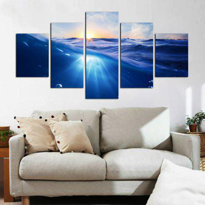 YHHP 5 Panels Hd Print Wall Art Calm Sea LandscapePrints<br>YHHP 5 Panels Hd Print Wall Art Calm Sea Landscape<br><br>Brand: YHHP<br>Craft: Print<br>Form: Five Panels<br>Material: Canvas<br>Package Contents: 5 x Panel of Print<br>Package size (L x W x H): 42.00 x 10.00 x 10.00 cm / 16.54 x 3.94 x 3.94 inches<br>Package weight: 0.5000 kg<br>Painting: Without Inner Frame<br>Product weight: 0.4000 kg<br>Shape: Vertical<br>Style: Modern Style<br>Subjects: Landscape<br>Suitable Space: Living Room,Bedroom,Office