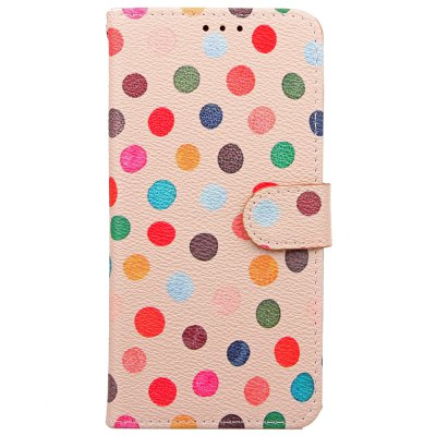 Wave Point Painted Leather Case Cover for iPhone XiPhone Cases/Covers<br>Wave Point Painted Leather Case Cover for iPhone X<br><br>Compatible for Apple: iPhone X<br>Features: Cases with Stand, With Credit Card Holder, Anti-knock, Dirt-resistant, FullBody Cases<br>Material: TPU, PU Leather<br>Package Contents: 1 x Phone Case<br>Package size (L x W x H): 20.00 x 10.00 x 3.00 cm / 7.87 x 3.94 x 1.18 inches<br>Package weight: 0.0540 kg<br>Style: Novelty, Round Dots