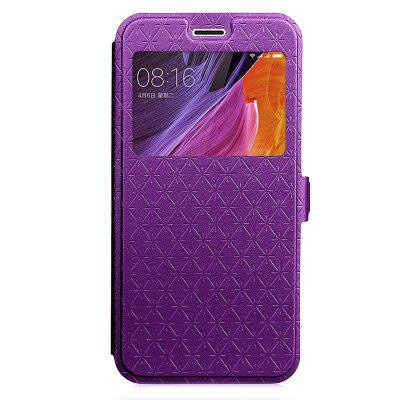 Case Cover for Xiaomi Redmi Note 4X Pure Color Rhombus Ribbon Window ProtectionCases &amp; Leather<br>Case Cover for Xiaomi Redmi Note 4X Pure Color Rhombus Ribbon Window Protection<br><br>Compatible Model: Xiaomi Redmi Note 4X<br>Features: Full Body Cases, Cases with Stand, With Credit Card Holder, Anti-knock, Dirt-resistant<br>Mainly Compatible with: Xiaomi<br>Material: TPU, PU Leather<br>Package Contents: 1 x Phone Case<br>Package size (L x W x H): 20.00 x 10.00 x 3.00 cm / 7.87 x 3.94 x 1.18 inches<br>Package weight: 0.0540 kg<br>Style: Novelty, Solid Color