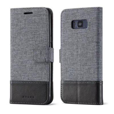 MUXMA Mixed Colors Cross Lines Retro Leather Case for Samsung Galaxy S8Samsung S Series<br>MUXMA Mixed Colors Cross Lines Retro Leather Case for Samsung Galaxy S8<br><br>Compatible with: Samsung Galaxy S8<br>Features: Cases with Stand, With Credit Card Holder<br>For: Samsung Mobile Phone<br>Material: TPU, PU Leather<br>Package Contents: 1 x Phone Case<br>Package size (L x W x H): 18.00 x 10.00 x 4.00 cm / 7.09 x 3.94 x 1.57 inches<br>Package weight: 0.1000 kg<br>Product weight: 0.0500 kg<br>Style: Vintage