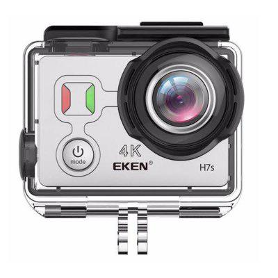 EKEN H7s 4K Action Camera Full HD Wifi Waterproof Sports DV Camcorder with 16MP Photo Video and 170 Wide Angle Lens