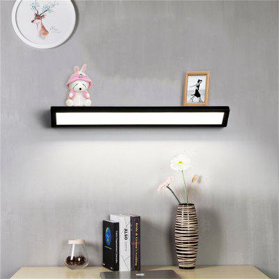 Modern Simplicity LED Eye Protection Before the Mirror Light Desk Wall Lamp - Black