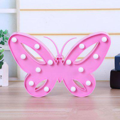 Table Lamp Creative Butterfly Shape Decorative LED Night LightDecorative Lights<br>Table Lamp Creative Butterfly Shape Decorative LED Night Light<br><br>Package Contents: 1 x Night Light<br>Package size (L x W x H): 35.00 x 25.00 x 5.00 cm / 13.78 x 9.84 x 1.97 inches<br>Package weight: 0.2000 kg<br>Product size (L x W x H): 30.00 x 23.50 x 3.00 cm / 11.81 x 9.25 x 1.18 inches<br>Product weight: 0.1900 kg