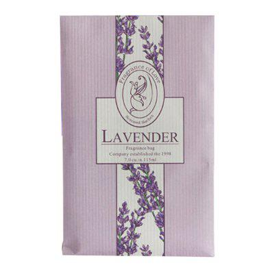 Fragrant Lavender Hanging Wardrobe Car Odor Mildew Insect Repellent Clothes Sachet Bag