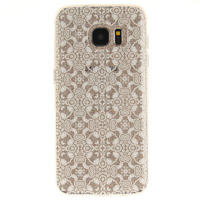 White Lace Soft Clear IMD TPU Phone Casing Mobile Smartphone Cover Shell Case for Samsung Galaxy S7 EdgeCases &amp; Leather<br>White Lace Soft Clear IMD TPU Phone Casing Mobile Smartphone Cover Shell Case for Samsung Galaxy S7 Edge<br><br>Compatible Model: Samsung S7 Edge<br>Features: Back Cover, Anti-knock<br>Material: TPU<br>Package Contents: 1 x Phone Case<br>Package size (L x W x H): 17.00 x 7.00 x 1.00 cm / 6.69 x 2.76 x 0.39 inches<br>Package weight: 0.0111 kg<br>Product Size(L x W x H): 16.00 x 6.00 x 1.00 cm / 6.3 x 2.36 x 0.39 inches<br>Product weight: 0.0100 kg<br>Style: Pattern