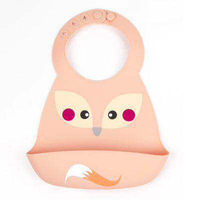 Cute Fox Pattern Baby Bib