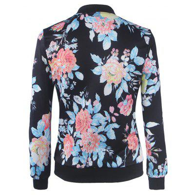 Womens Fashion Wild Printing Long-Sleeved Slim JacketJackets &amp; Coats<br>Womens Fashion Wild Printing Long-Sleeved Slim Jacket<br><br>Closure Type: Zipper<br>Clothes Type: Jackets<br>Collar: Round Neck<br>Elasticity: Elastic<br>Embellishment: Zippers<br>Fabric Type: Woolen<br>Material: Polyester<br>Package Contents: 1 x  Jacket<br>Pattern Type: Print<br>Shirt Length: Regular<br>Sleeve Length: Full<br>Style: Fashion<br>Type: Slim<br>Weight: 0.2500kg