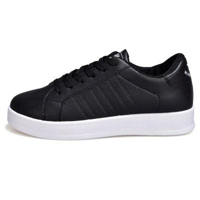 Pure Color Simple Female Sports ShoesWomens Sneakers<br>Pure Color Simple Female Sports Shoes<br><br>Available Size: 36,37,38,39,40<br>Closure Type: Lace-Up<br>Feature: Breathable<br>Gender: For Women<br>Outsole Material: Rubber<br>Package Contents: 1xShoes(pair)<br>Package size (L x W x H): 30.00 x 20.00 x 10.00 cm / 11.81 x 7.87 x 3.94 inches<br>Package weight: 0.8000 kg<br>Pattern Type: Others<br>Season: Spring/Fall<br>Upper Material: PU
