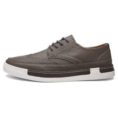 Mens Block Style Leather ShoesCasual Shoes<br>Mens Block Style Leather Shoes<br><br>Available Size: 39,40,41,42,43,44<br>Closure Type: Lace-Up<br>Embellishment: None<br>Gender: For Men<br>Outsole Material: Rubber<br>Package Contents: 1xShoes(pair)<br>Pattern Type: Others<br>Season: Summer, Winter, Spring/Fall<br>Toe Shape: Round Toe<br>Toe Style: Closed Toe<br>Upper Material: PU<br>Weight: 1.6896kg