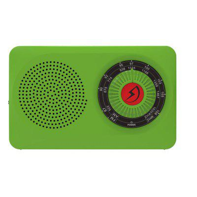 Fashion Pocket Radio AM FM Hand Movement Tune Outdoor Radio