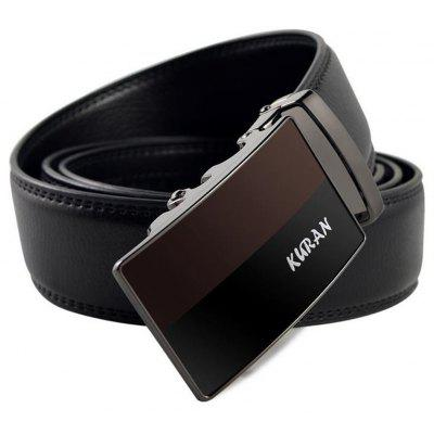 The New Fashion Leather Belt Buckle All-Match AutomaticallyBelts<br>The New Fashion Leather Belt Buckle All-Match Automatically<br><br>Belt Material: Cowskin<br>Belt Silhouette: Wide Belt<br>Gender: For Men<br>Group: Adult<br>Package Contents: 1 X BELT<br>Package size (L x W x H): 10.00 x 10.00 x 10.00 cm / 3.94 x 3.94 x 3.94 inches<br>Package weight: 0.3500 kg<br>Pattern Type: Others<br>Style: Formal