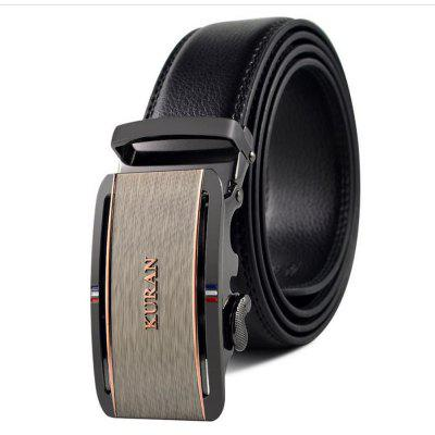 Alloy Automatic Buckle for Men's Leather Belt
