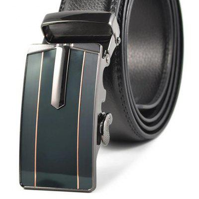 Mens Real Leather Business and Leisure Automatic Buckle BeltBelts<br>Mens Real Leather Business and Leisure Automatic Buckle Belt<br><br>Belt Material: Cowskin<br>Belt Silhouette: Wide Belt<br>Gender: For Men<br>Group: Adult<br>Package Contents: 1 X BELT<br>Package size (L x W x H): 10.00 x 10.00 x 10.00 cm / 3.94 x 3.94 x 3.94 inches<br>Package weight: 0.3500 kg<br>Pattern Type: Others<br>Style: Formal