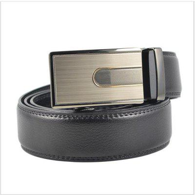 Mens Leather Casual Leather Leather Belt Buckle AutomaticallyBelts<br>Mens Leather Casual Leather Leather Belt Buckle Automatically<br><br>Belt Material: Cowskin<br>Belt Silhouette: Wide Belt<br>Gender: For Men<br>Group: Adult<br>Package Contents: 1 X BELT<br>Package size (L x W x H): 10.00 x 10.00 x 10.00 cm / 3.94 x 3.94 x 3.94 inches<br>Package weight: 0.3500 kg<br>Pattern Type: Others<br>Style: Formal