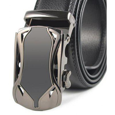 Auto Styling Fashion Automatically Buckle The Male Real Leather BeltBelts<br>Auto Styling Fashion Automatically Buckle The Male Real Leather Belt<br><br>Belt Material: Cowskin<br>Belt Silhouette: Wide Belt<br>Gender: For Men<br>Group: Adult<br>Package Contents: 1 X BELT<br>Package size (L x W x H): 10.00 x 10.00 x 10.00 cm / 3.94 x 3.94 x 3.94 inches<br>Package weight: 0.3500 kg<br>Pattern Type: Others<br>Style: Formal