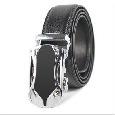 Auto Styling Fashion Automatically Buckle The Male Real Leather Belt