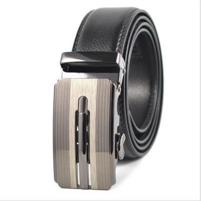 Men's Leisure Leather Belt Buckle Automatic Youth