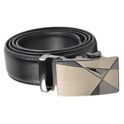 Mens Leather Automatic Buckle Business and Leisure BeltBelts<br>Mens Leather Automatic Buckle Business and Leisure Belt<br><br>Belt Material: Cowskin<br>Belt Silhouette: Wide Belt<br>Gender: For Men<br>Group: Adult<br>Package Contents: 1 X BELT<br>Package size (L x W x H): 10.00 x 10.00 x 10.00 cm / 3.94 x 3.94 x 3.94 inches<br>Package weight: 0.3500 kg<br>Pattern Type: Others<br>Style: Formal