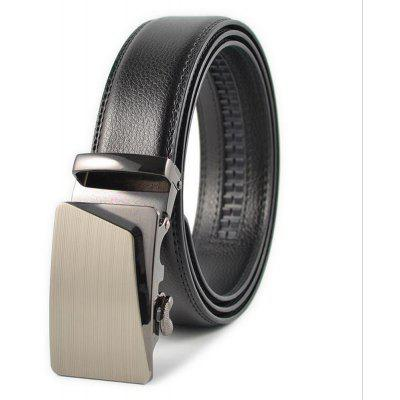 Man Automatically Buckle Real Leather Leisure Business Belt