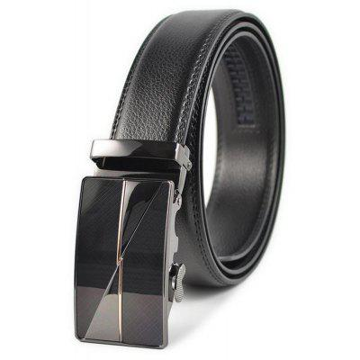 Auto Buckle Real Leather Men Leisure Business Belt