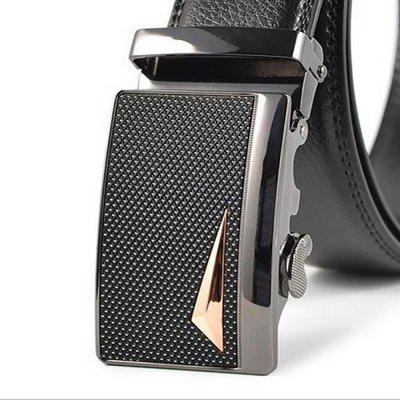 Alloy Automatic Buckle Leather Mens Leisure BeltBelts<br>Alloy Automatic Buckle Leather Mens Leisure Belt<br><br>Belt Material: Cowskin<br>Belt Silhouette: Wide Belt<br>Gender: For Men<br>Group: Adult<br>Package Contents: 1 X BELT<br>Package size (L x W x H): 10.00 x 10.00 x 10.00 cm / 3.94 x 3.94 x 3.94 inches<br>Package weight: 0.3500 kg<br>Pattern Type: Others<br>Style: Formal