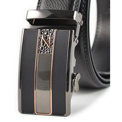 Alloy Automatic Buckle Leather Belt New MenS Leisure BusinessBelts<br>Alloy Automatic Buckle Leather Belt New MenS Leisure Business<br><br>Belt Material: Cowskin<br>Belt Silhouette: Wide Belt<br>Gender: For Men<br>Group: Adult<br>Package Contents: 1 X BELT<br>Package size (L x W x H): 10.00 x 10.00 x 10.00 cm / 3.94 x 3.94 x 3.94 inches<br>Package weight: 0.3500 kg<br>Pattern Type: Others<br>Style: Formal