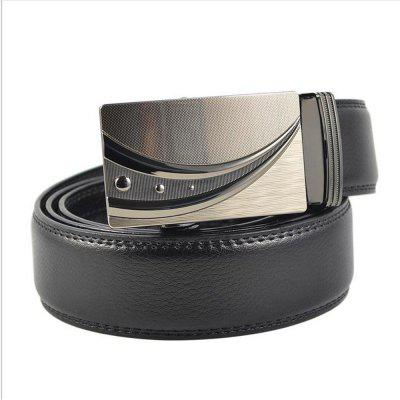 Automatic Leather Buckle Business Man BeltBelts<br>Automatic Leather Buckle Business Man Belt<br><br>Belt Material: Cowskin<br>Belt Silhouette: Wide Belt<br>Gender: For Men<br>Group: Adult<br>Package Contents: 1 X BELT<br>Package size (L x W x H): 10.00 x 10.00 x 10.00 cm / 3.94 x 3.94 x 3.94 inches<br>Package weight: 0.3500 kg<br>Pattern Type: Others<br>Style: Formal