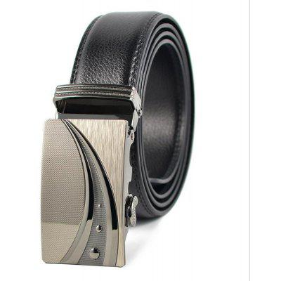 Automatic Leather Buckle Business Man Belt