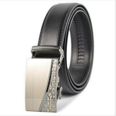 Automatic Buckle for Men's Leisure Business Belt