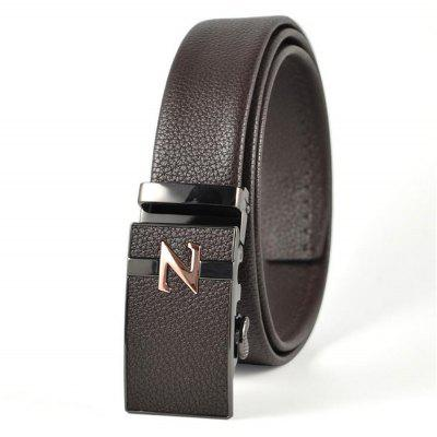 New Type of Skin Buckle, Double Pack Water Rubbed Mens BeltBelts<br>New Type of Skin Buckle, Double Pack Water Rubbed Mens Belt<br><br>Belt Material: PU<br>Belt Silhouette: Wide Belt<br>Gender: For Men<br>Group: Adult<br>Package Contents: 1 X BELT<br>Package size (L x W x H): 10.00 x 10.00 x 10.00 cm / 3.94 x 3.94 x 3.94 inches<br>Package weight: 0.3500 kg<br>Pattern Type: Others<br>Style: Formal