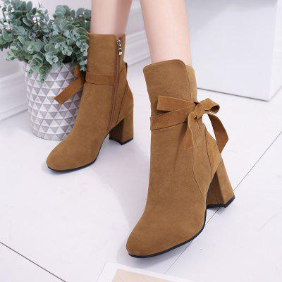 Thick Heel Lace Martin BootsWomens Boots<br>Thick Heel Lace Martin Boots<br><br>Boot Height: Mid-Calf<br>Boot Type: Riding/Equestrian<br>Closure Type: Zip<br>Gender: For Women<br>Heel Type: Chunky Heel<br>Package Contents: 1 x Shoes ( pair )<br>Pattern Type: Solid<br>Season: Spring/Fall, Winter<br>Toe Shape: Round Toe<br>Upper Material: Cotton Fabric<br>Weight: 0.5632kg