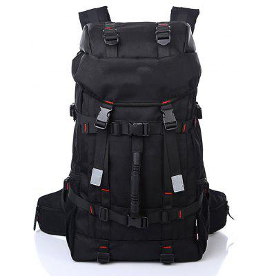 Outdoor camouflage double shoulder bag male carrying capacity backpack student travel computer bag waterproof approval