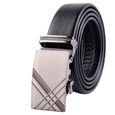 Mens First Layer of Leather Stylish Belt Automatic Sliding BuckleBelts<br>Mens First Layer of Leather Stylish Belt Automatic Sliding Buckle<br><br>Belt Material: Cowskin<br>Belt Silhouette: Buckle<br>Gender: For Men<br>Group: Adult<br>Package Contents: 1 x belt<br>Package size (L x W x H): 20.00 x 15.00 x 5.00 cm / 7.87 x 5.91 x 1.97 inches<br>Package weight: 0.1500 kg<br>Pattern Type: Solid<br>Product weight: 0.1000 kg<br>Style: Formal