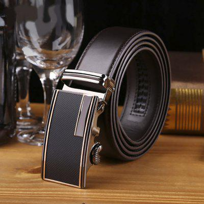 Mens First Layer of Leather Classy Stylish Buckle Belt with Automatic Sliding Buckle - CoffeeBelts<br>Mens First Layer of Leather Classy Stylish Buckle Belt with Automatic Sliding Buckle - Coffee<br><br>Belt Material: Cowskin<br>Belt Silhouette: Buckle<br>Gender: For Men<br>Group: Adult<br>Package Contents: 1 x belt<br>Package size (L x W x H): 20.00 x 15.00 x 5.00 cm / 7.87 x 5.91 x 1.97 inches<br>Package weight: 0.1500 kg<br>Pattern Type: Solid<br>Product weight: 0.1000 kg<br>Style: Formal