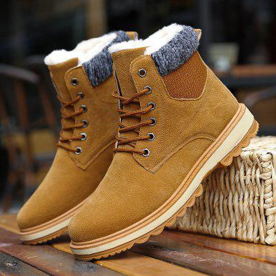 Men Fashion Shoes MenS Warm High Sneaker Winter Cotton BootsMens Boots<br>Men Fashion Shoes MenS Warm High Sneaker Winter Cotton Boots<br><br>Available Size: 39-44<br>Closure Type: Lace-Up<br>Embellishment: None<br>Gender: For Men<br>Insole Material: Rubber<br>Occasion: Casual<br>Outsole Material: PU<br>Package Contents: 1?Shoes(pair)<br>Pattern Type: Solid<br>Season: Winter, Spring/Fall<br>Shoe Width: Medium(B/M)<br>Toe Shape: Round Toe<br>Toe Style: Closed Toe<br>Upper Material: PU<br>Weight: 1.2000kg