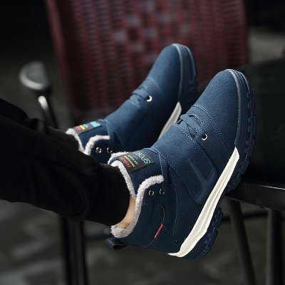 Men Fashion Cotton Shoes MenS Warm Winter Boots SneakerMen's Sneakers<br>Men Fashion Cotton Shoes MenS Warm Winter Boots Sneaker<br><br>Available Size: 39-48<br>Closure Type: Lace-Up<br>Embellishment: None<br>Gender: For Men<br>Insole Material: Rubber<br>Occasion: Casual<br>Outsole Material: PU<br>Package Contents: 1?Shoes(pair)<br>Pattern Type: Solid<br>Season: Winter, Spring/Fall<br>Shoe Width: Medium(B/M)<br>Toe Shape: Round Toe<br>Toe Style: Closed Toe<br>Upper Material: PU<br>Weight: 1.2000kg