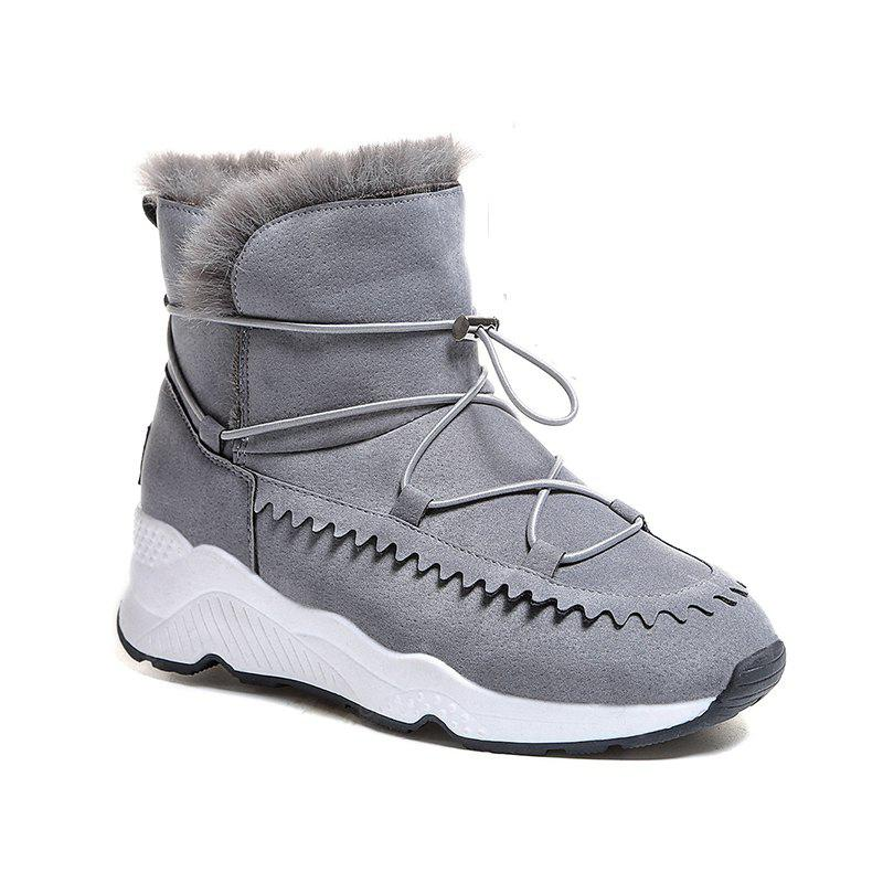 Women Fashion Outdoors Warm Boots Cotton Girl Snow Shoes Sneaker