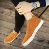 Men Fashion Outdoors Flats British High Top Shoes Sneaker - BROWN