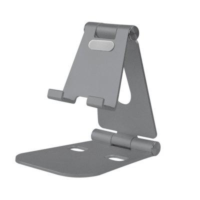 XY Handset Plate Support Aluminum Alloy General Metal Bracket Slacker Desktop Support Double Regulation
