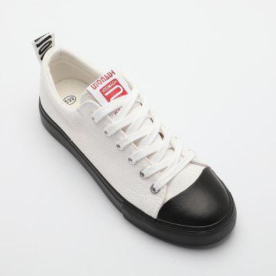 Fashion Spring Wear WomenS Canvas Shoes 2018Womens Casual Shoes<br>Fashion Spring Wear WomenS Canvas Shoes 2018<br><br>Available Size: 35-39<br>Closure Type: Lace-Up<br>Embellishment: None<br>Gender: For Women<br>Outsole Material: Rubber<br>Package Contents: 1 x Shoes Pair<br>Pattern Type: Solid<br>Season: Summer, Spring/Fall<br>Toe Shape: Round Toe<br>Toe Style: Closed Toe<br>Upper Material: Canvas<br>Weight: 0.8000kg