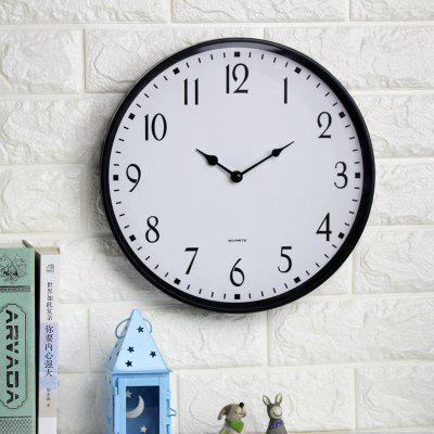 Clock living room modern simple silent quartz clock fashion creative clock