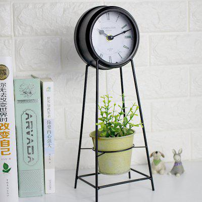 Jingyin European retro craft office clock
